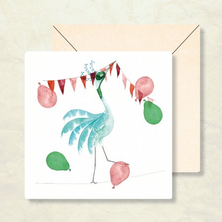 Duurzame verjaardagskaart